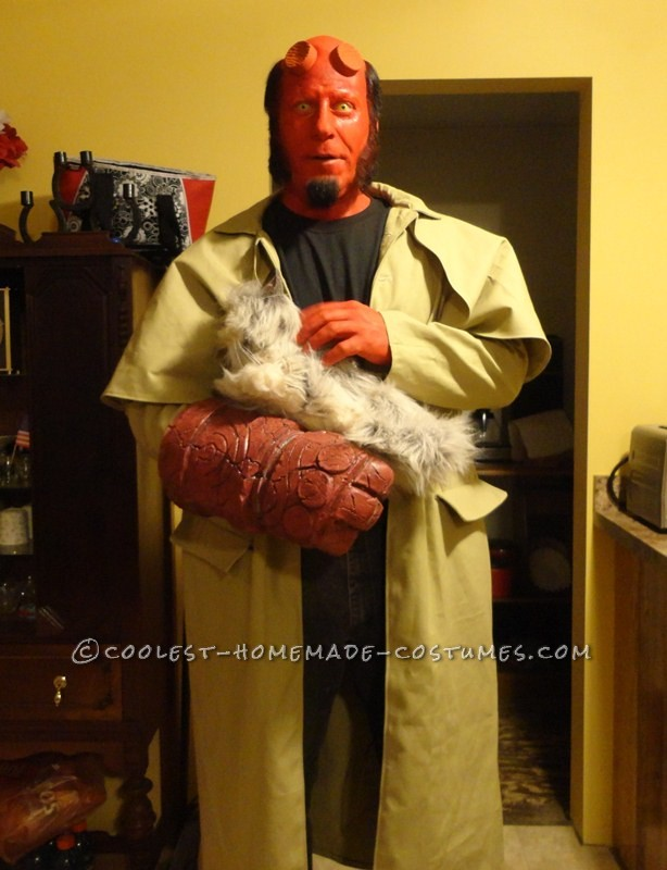Coolest Home Made Hellboy Costume