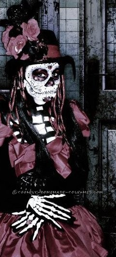 Homemade Dia De Los Muertos Halloween Costume