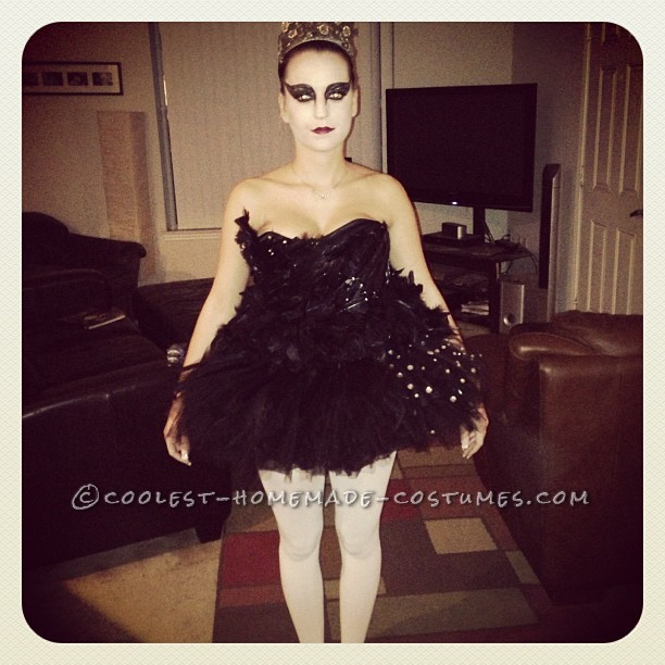 Coolest Homemade Black Swan Costume