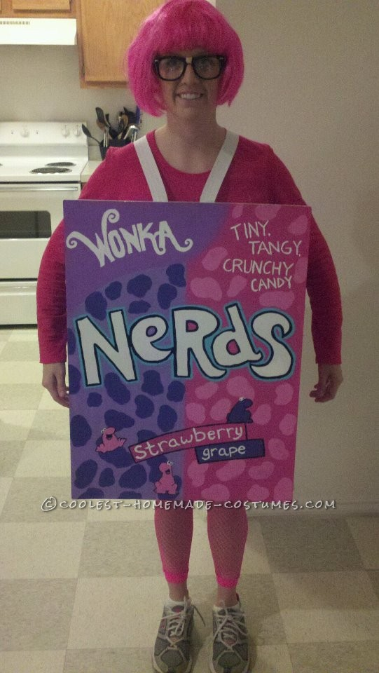 Fun Homemade Halloween Costume: Nerdy Nerd