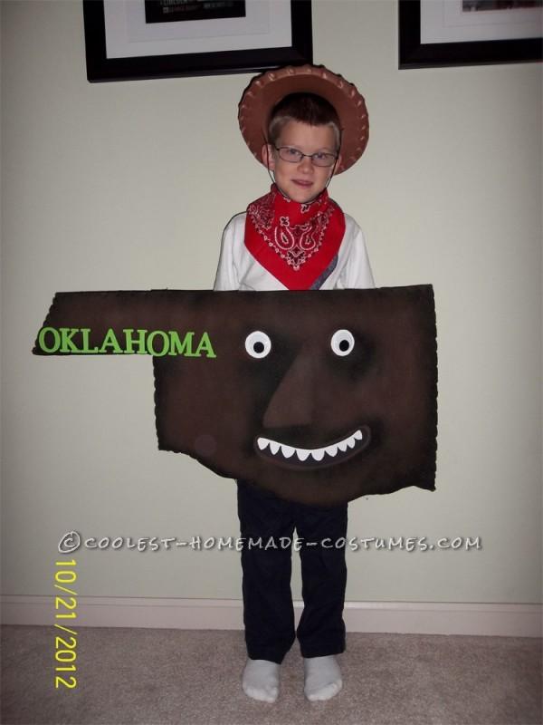 Original Child's Costume Idea: The Scrambled States of America - 1