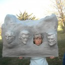 Original Homemade Mount Rushmore Costume