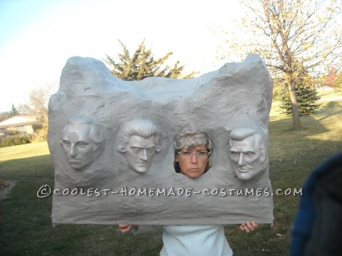 Original Homemade Mount Rushmore Costume