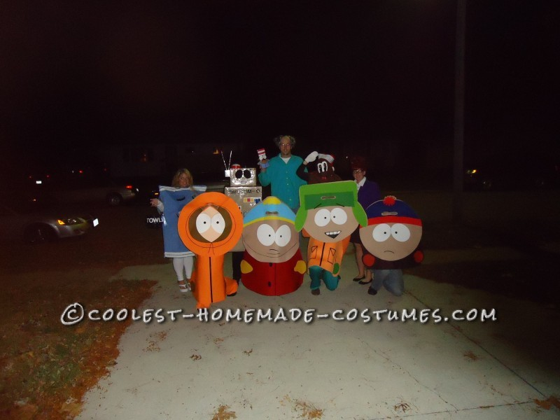 I was Towelie from South Park for Halloween 2012 this year. I went with a group of 9 to make a pretty good South Park Family. I made this costume mys