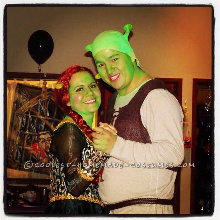 Shrek & Fiona Dancing