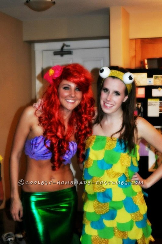 Best ariel and fish costume