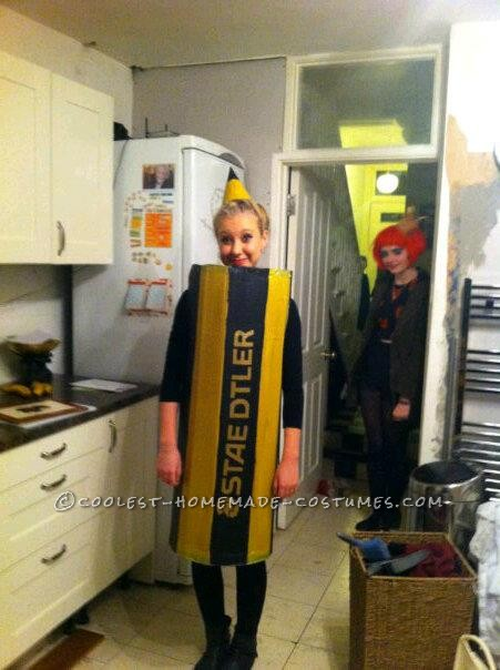 Easy Last-Minute Homemade Pencil Costume