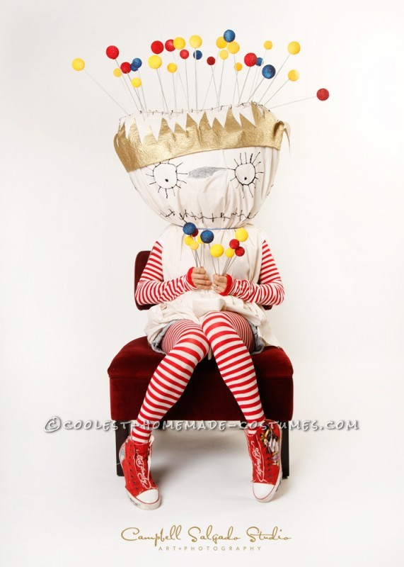 Original Pin Cushion Queen Costume inspired by Tim Burton's Poem