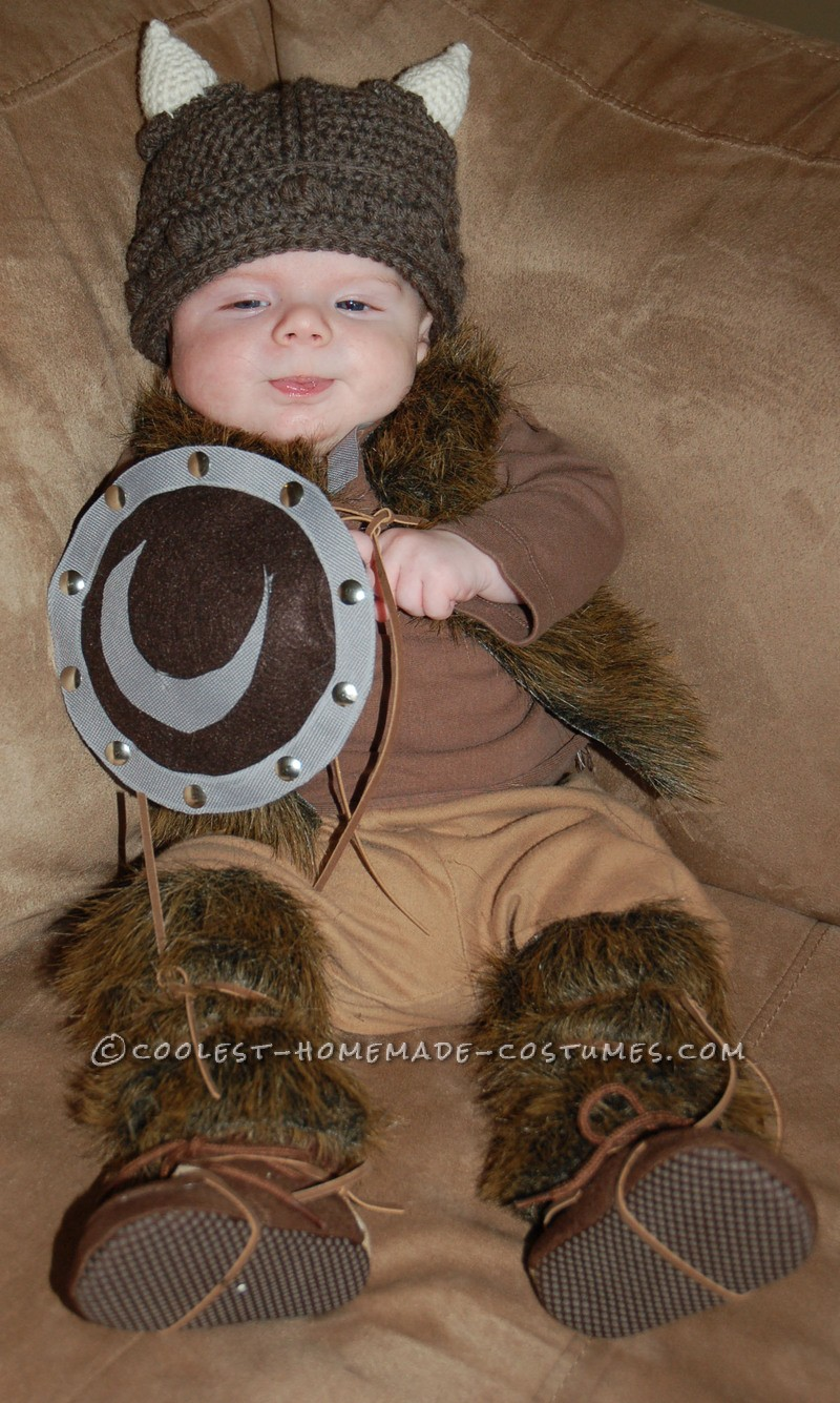 It all started with a hat. When I was about 9 months pregnant with my son Carter, I came across a crocheted Viking hat on Etsy. Being of Viking desce