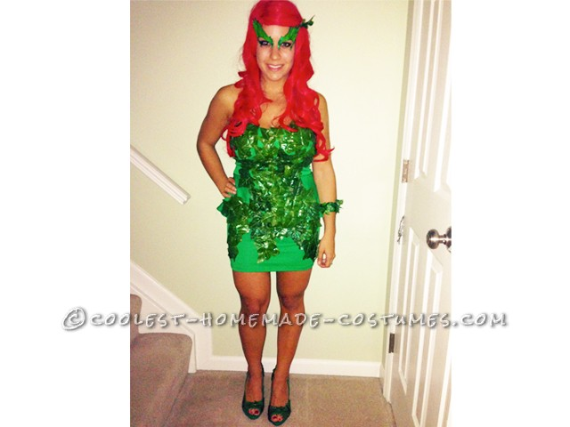 Homemade Poison Ivy Costume Inspired by Kim Kardashian's 2011 Poison Ivy - 1