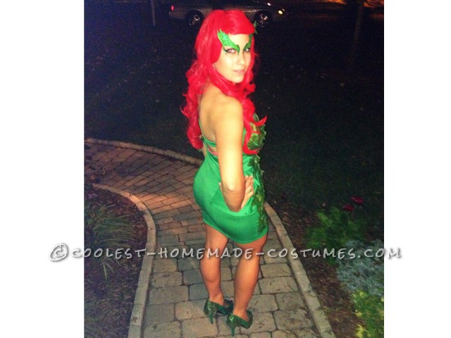 Homemade Poison Ivy Costume Inspired by Kim Kardashian's 2011 Poison Ivy - 3