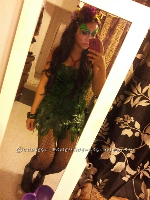 Quick and Easy Poison Ivy Costume - 3