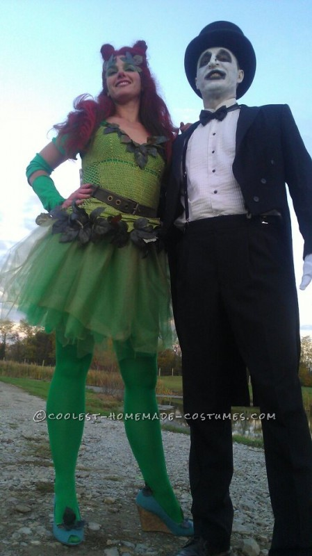 Coolest Poison Ivy Costume with Uma's Infamous Hairstyle