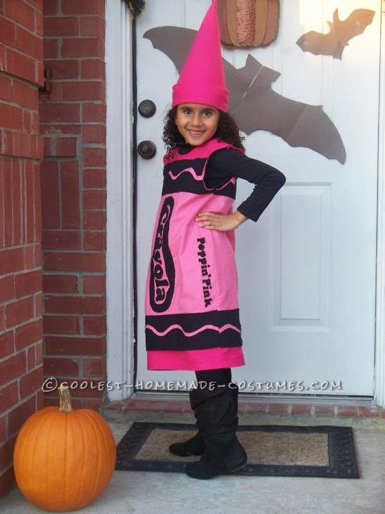 Poppin' Pink Crayola