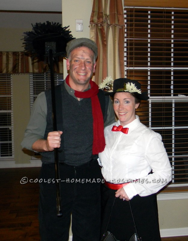 My hubby and I were invited to a Halloween party and we wanted to go as a couple, without spending much money, and we wanted something would be comfo