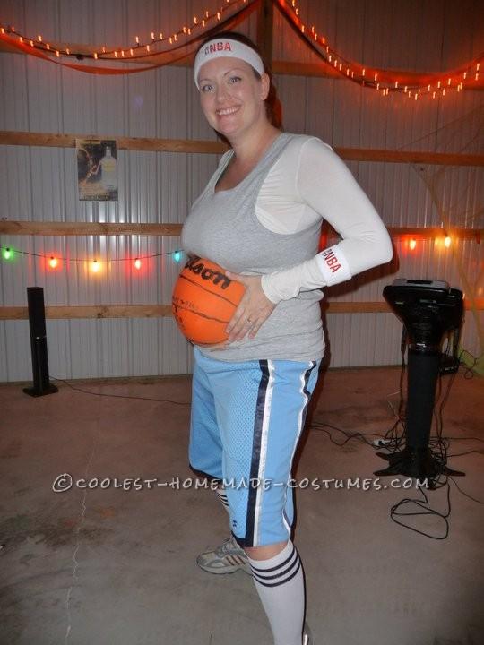 Original Pregnant Basketball Player Costume