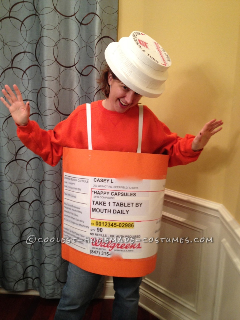Prescription Dog Food >> Original Homemade Prescription Bottle Costume