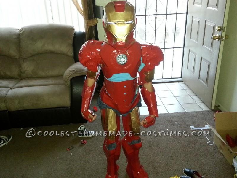 9 year old on Mark IV Armor
