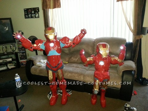 """I went online and found a youtube site called \""""TheHeroTutorials\"""". . . The guy there explains all the steps needed to make your own costumes fro"""