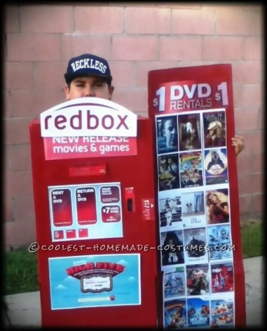 Coolest Homemade Redbox Costume