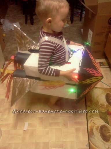 space rocket homemade easy to do - photo #32