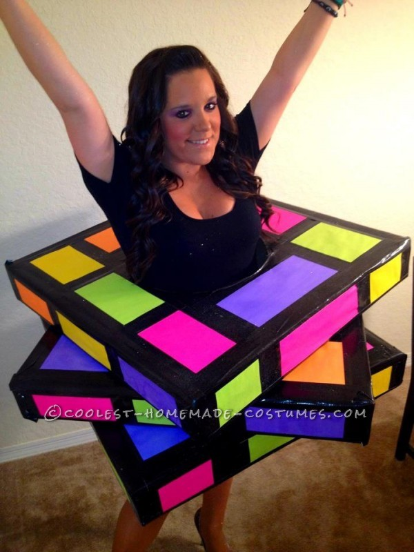 Coolest Rubiks Cube Homemade Halloween Costume