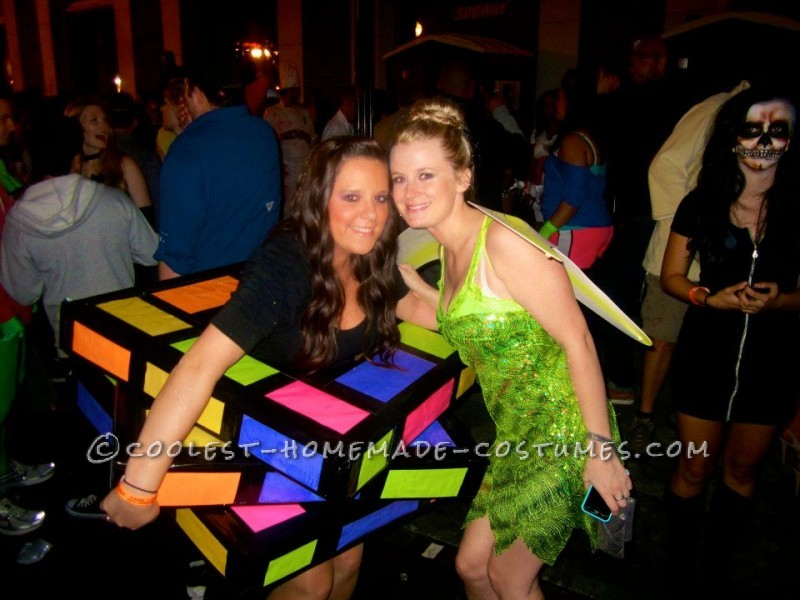 Coolest Rubiks Cube Homemade Halloween Costume - 2