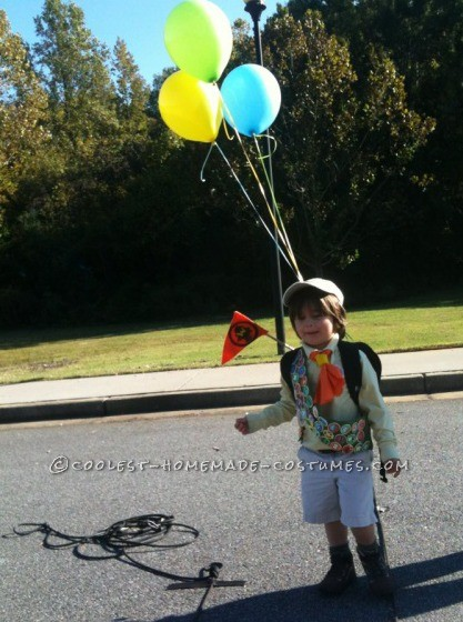 cool russell from up halloween costume for 3 year old boy