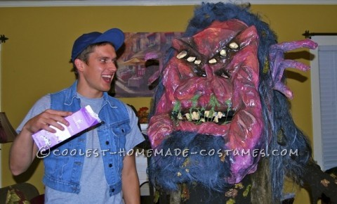 """The inspiration for this costume came from the movie """"Ernest Scared Stupid"""". Growing up, my family and I watched this movie every Hallowe"""