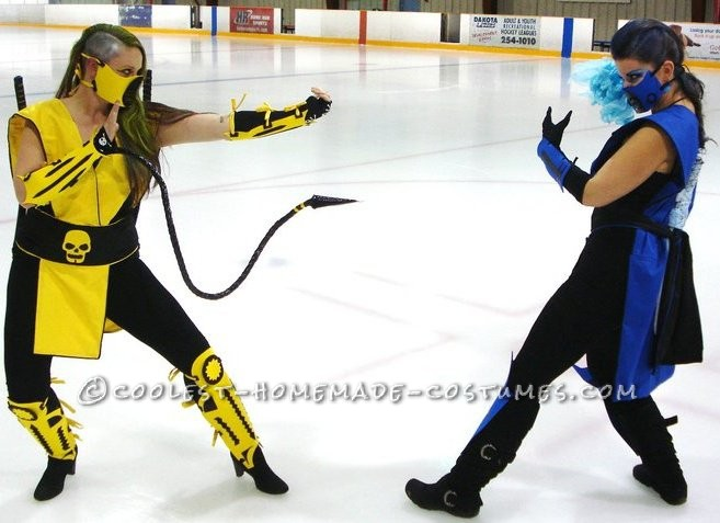 Scorpion VS. Subzero