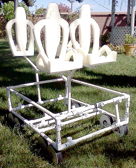 Upholstery foam seats on Manta Frame