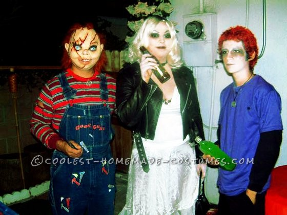 Coolest Seed of Chucky Family Halloween Costume
