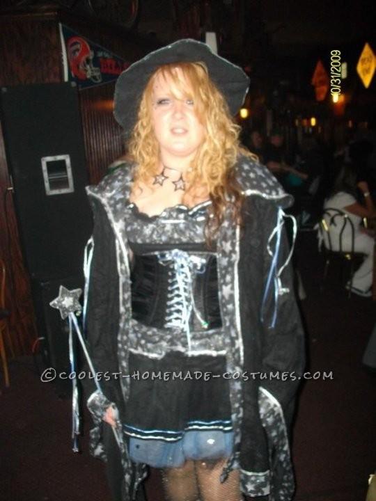 Homemade Female Wizard Costume
