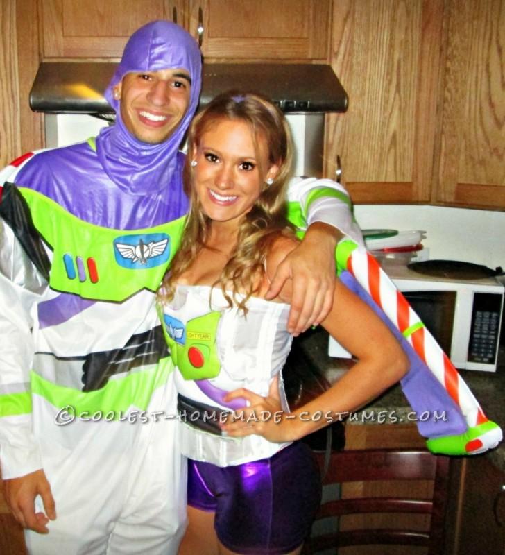Sexy Buzz Lightyear (Toy Story) Halloween Costume!