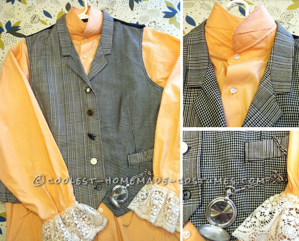 Mad Hatter Shirt, Vest and Pocket Watch