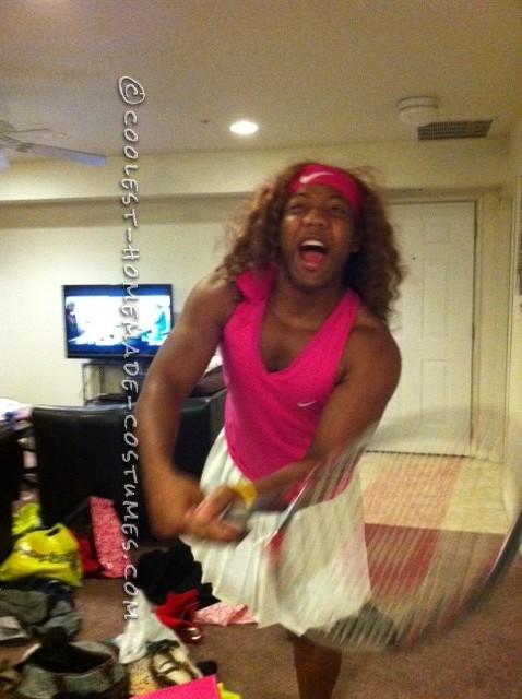 ME  as Serena Williams