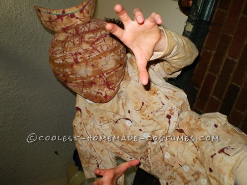 Scary Silent Hill Nurse Costume - 1