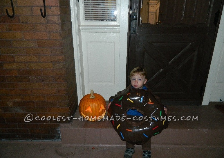 Halloween night just before trick or treating