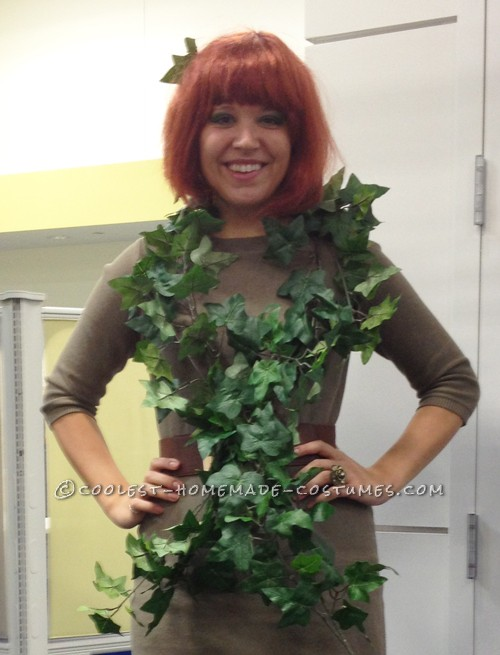 Last-Minute Poison Ivy Halloween Costume - 2