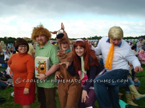 Simple and Easy to Make Velma Costume from the Scooby Doo Gang