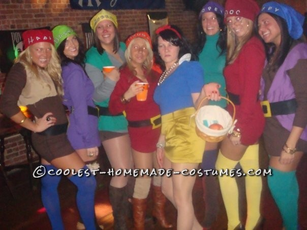 Coolest Snow White and the 7 Sexy Dwarfs Group Costume - 2