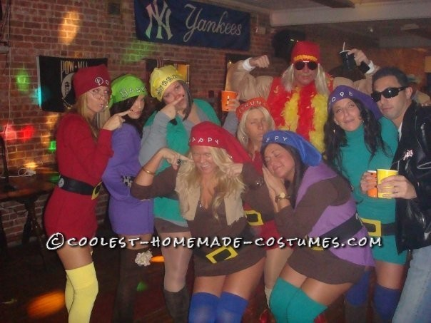Coolest Snow White and the 7 Sexy Dwarfs Group Costume - 3