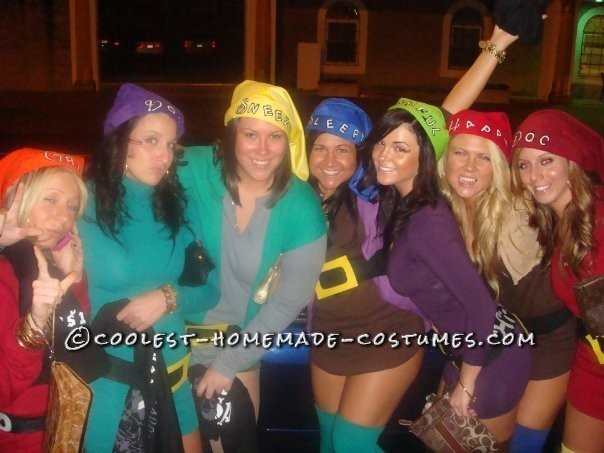 047d5c30b9d Coolest Snow White and the 7 Sexy Dwarfs Group Costume