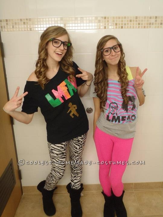 Coolest LMFAO Costumes – Sorry for Party Rocking! - 1