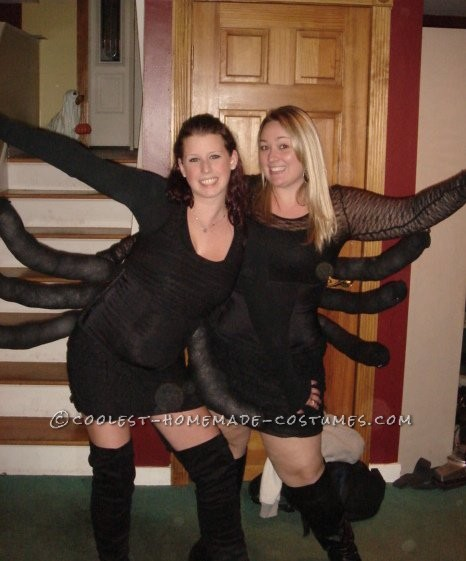 Creative Homemade Spider Costume
