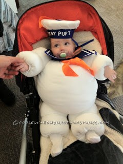 Original Baby Halloween Costume Idea: Stay Puft Marshmallow Baby - 6