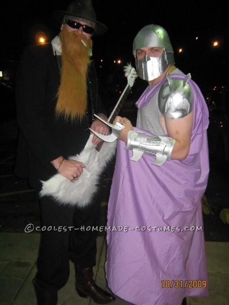 With Shredder