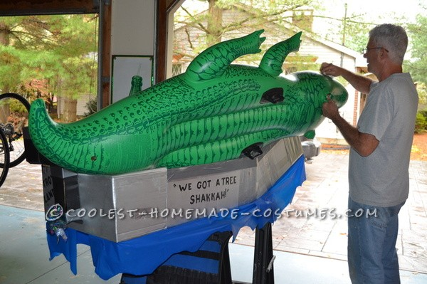 Swamp King Troy Landry Costume We are grandparents who are lucky enough to live close to our grandchildren. In our never-ending quest to be the grea