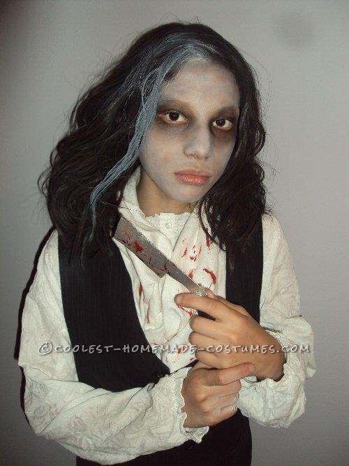 Coolest Homemade Sweeney Todd Halloween Costume