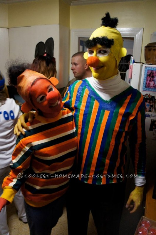 The Best Homemade Bert and Ernie Costumes Ever - 2